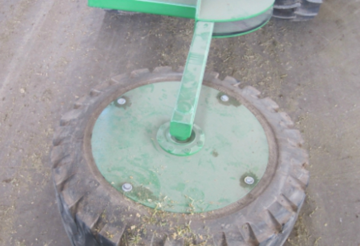 3 Point Mounted Large Tire Mounted Pushup  tulare