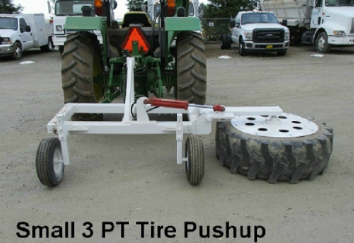 3 Point Tire Pushup services tulare
