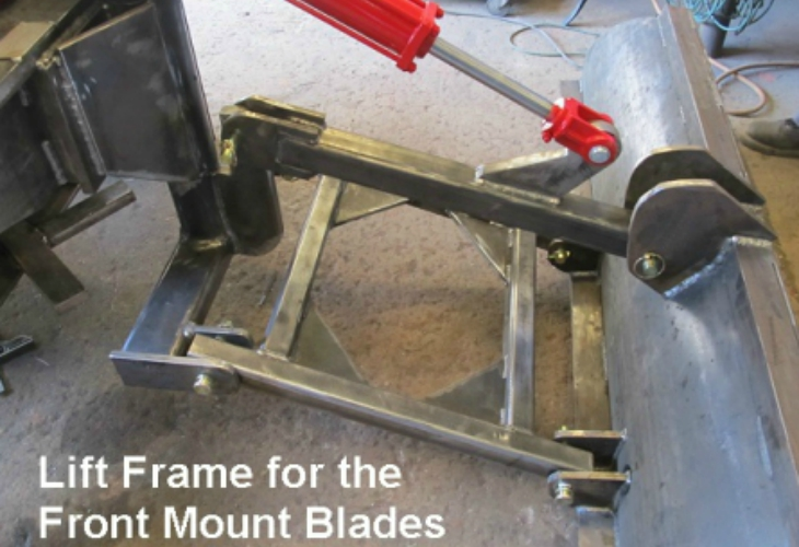 Front Mount Pushup Blades services In tulare