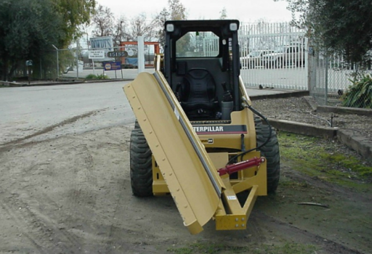 Skid Steer Push Ups services tulare