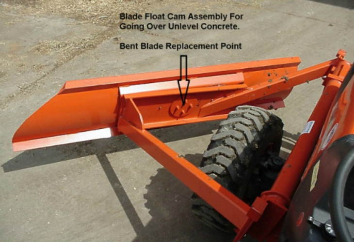 Tractor Pushup Blades services tulare