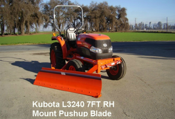 Tractor Pushup Blades services In tulare